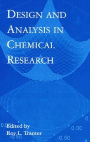 Design and Analysis in Chemical Research