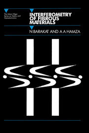 Interferometry of Fibrous Materials - 1st Edition book cover