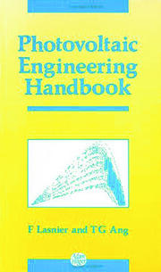 Photovoltaic Engineering Handbook - 1st Edition book cover