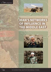 Iran's Networks of Influence in the Middle East - 1st Edition book cover