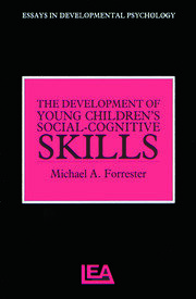 The Development of Young Children's Social-Cognitive Skills - 1st Edition book cover