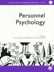 A Handbook of Work and Organizational Psychology - 1st Edition book cover