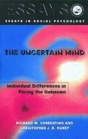 The Uncertain Mind - 1st Edition book cover