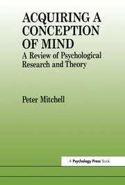 Acquiring a Conception of Mind - 1st Edition book cover