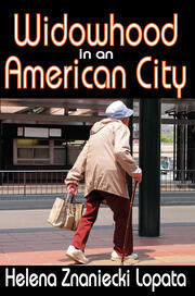 Widowhood in an American City - 1st Edition book cover