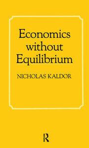 Economics without Equilibrium - 1st Edition book cover