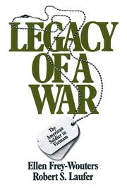 Legacy of a War - 1st Edition book cover