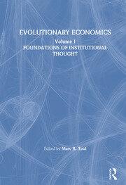 Evolutionary Economics: v. 1 - 1st Edition book cover