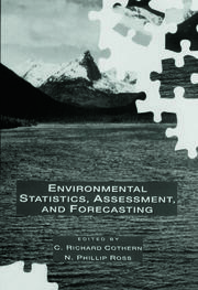 Environmental Statistics, Assessment, and Forecasting