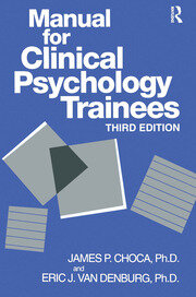 Manual For Clinical Psychology Trainees - 3rd Edition book cover