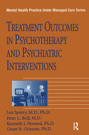 Treatment Outcomes In Psychotherapy And Psychiatric Interventions - 1st Edition book cover