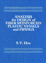 Analysis for Design of Fiber Reinforced Plastic Vessels - 1st Edition book cover