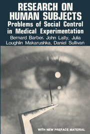 Research on Human Subjects - 1st Edition book cover