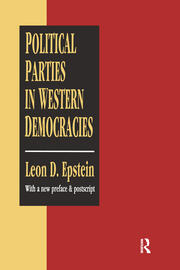 Political Parties in Western Democracies - 1st Edition book cover