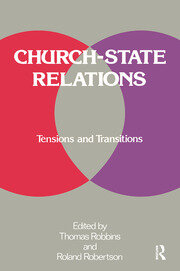Church-state Relations - 1st Edition book cover