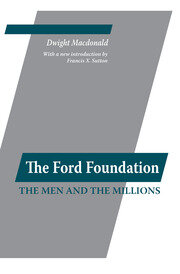 Ford Foundation - 1st Edition book cover