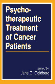 Psychotherapeutic Treatment of Cancer Patients - 1st Edition book cover