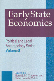 Early State Economics - 1st Edition book cover