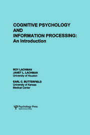 Cognitive Psychology and Information Processing - 1st Edition book cover