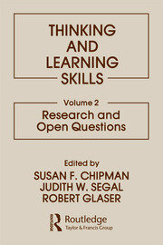 Thinking and Learning Skills - 1st Edition book cover