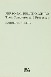 Personal Relationships - 1st Edition book cover