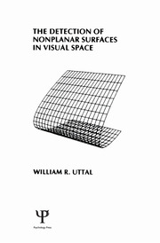 The Detection of Nonplanar Surfaces in Visual Space - 1st Edition book cover