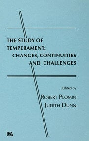 The Study of Temperament - 1st Edition book cover
