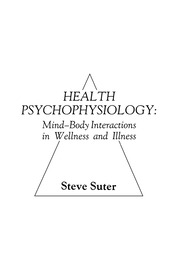 Health Psychophysiology - 1st Edition book cover
