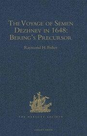 The Voyage of Semen Dezhnev in 1648 - 1st Edition book cover