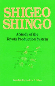 A Study of the Toyota Production System - 1st Edition book cover