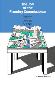 Job of the Planning Commissioner - 1st Edition book cover