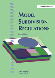 Model Subdivision Regulations - 1st Edition book cover