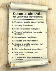 Continuous Improvement Poster - 1st Edition book cover