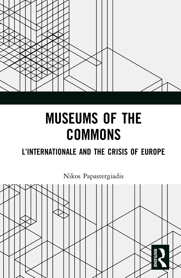 Museums of the Commons -  1st Edition book cover