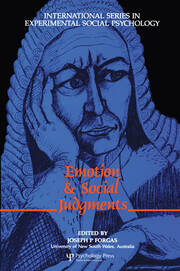 Emotion and Social Judgements - 1st Edition book cover