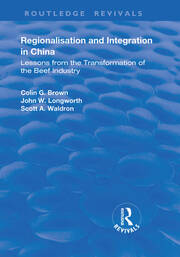 Regionalisation and Integration in China - 1st Edition book cover