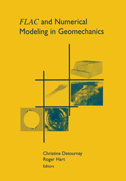 FLAC and Numerical Modeling in Geomechanics - 1st Edition book cover