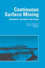 Continuous Surface Mining - 1st Edition book cover