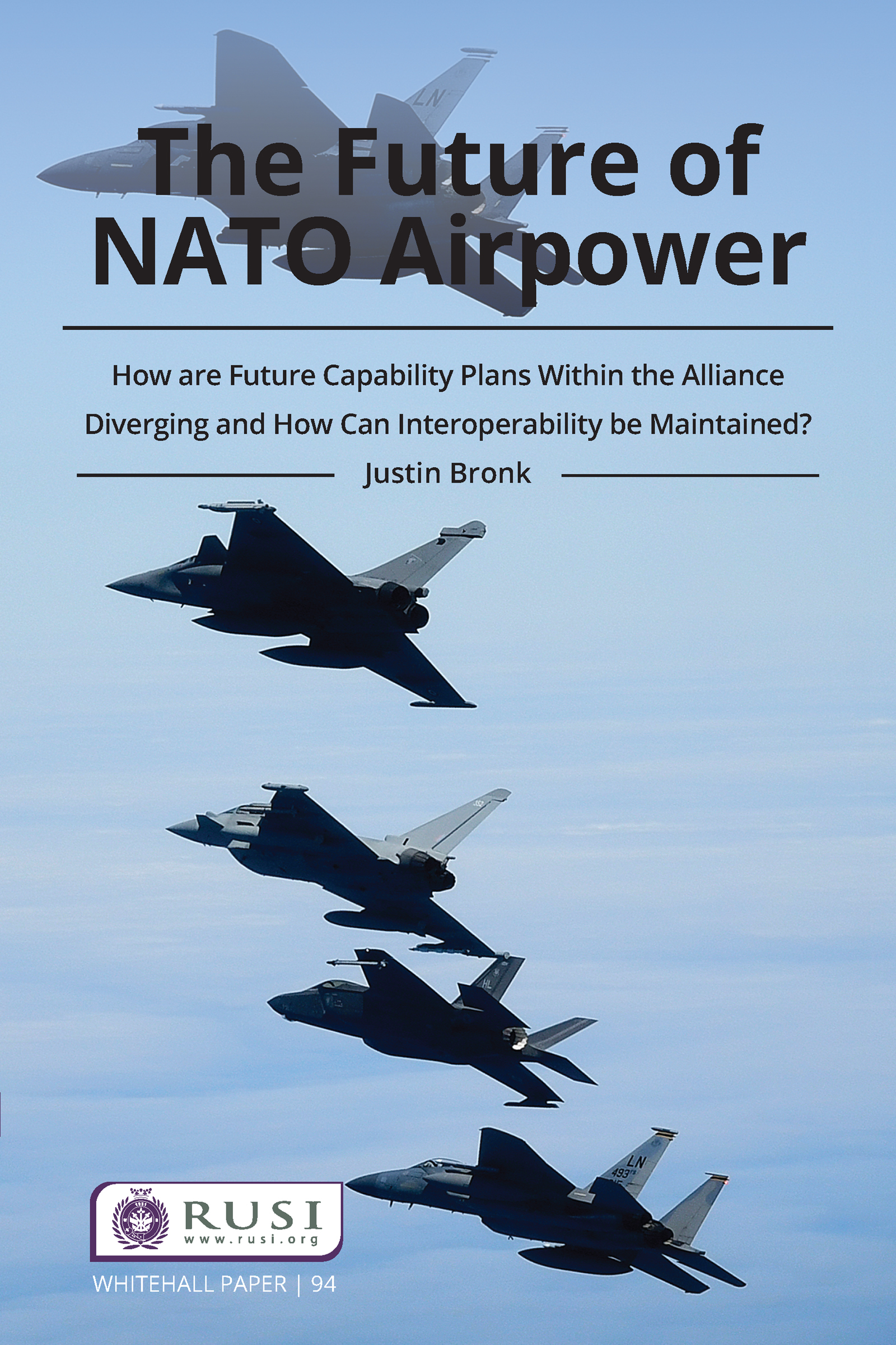 The Future of NATO Airpower - 1st Edition book cover