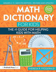 Math Dictionary for Kids - 5th Edition book cover