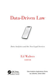 Data-Driven Law - 1st Edition book cover