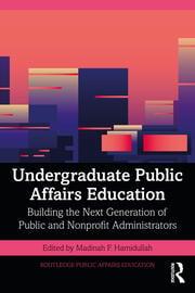 Undergraduate Public Affairs Education - 1st Edition book cover