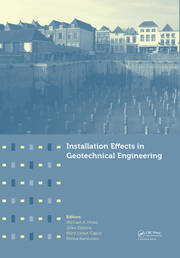 Installation Effects in Geotechnical Engineering