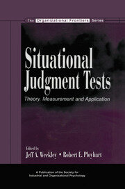 Situational Judgment Tests - 1st Edition book cover