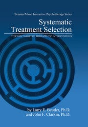 Systematic Treatment Selection - 1st Edition book cover