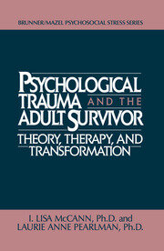 Psychological Trauma And Adult Survivor Theory - 1st Edition book cover