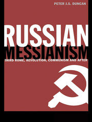 Russian Messianism - 1st Edition book cover