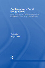 Contemporary Rural Geographies - 1st Edition book cover