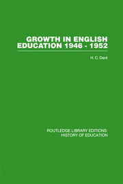 Growth in English Education - 1st Edition book cover