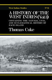 A History of the West Indies - 1st Edition book cover